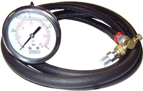 FPT 2 vpmax fuel pressure tester test gauge schrader connection