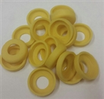 Push Lock Plastic Collars 1/4""